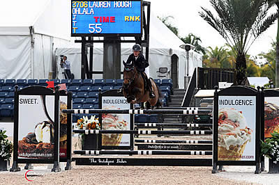 Lauren Hough and Ohlala Speed to Victory in $34,000 Ruby et Violette WEF Challenge Cup Round 4