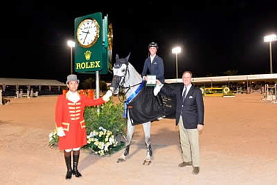 Honours Go to Ben Maher in Highlight of Week 5 Presented by Rolex at the Winter Equestrian Festival