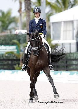 Juan Matute, Jr. Collects Third Win of the Weekend in the FEI Intermediaire-1 Freestyle at AGDF 5 CDI 3*/4*