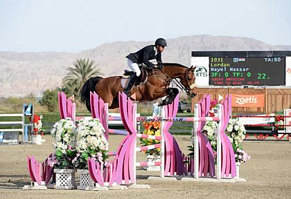 Nayel Nassar Tops Two-Horse Jump-Off, Wins $33,500 HITS Desert Classic on Lordan