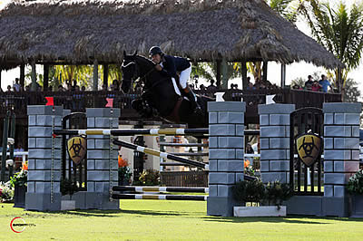 Hardin Towell and Man in Black Beat the Field in $50,000 Ariat Grand Prix CSI 2*