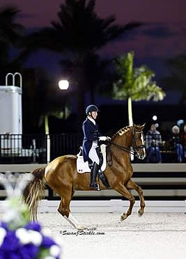 Devon L Earns Second USDF Hanoverian All-Breeds Award for Grand Prix Freestyle