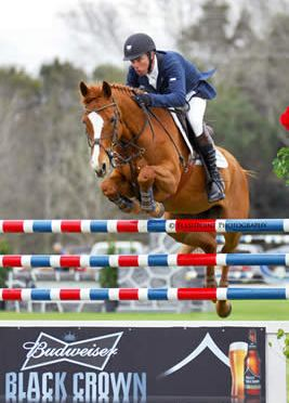 Wilhelm Genn and Happy Z Win the $50,000 Budweiser Grand Prix