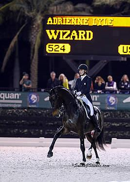 Adrienne Lyle Claims Another FEI Grand Prix Freestyle at AGDF Palm Beach Dressage Derby CDI W