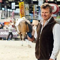 Athletes like Australia's Boyd Exell (pictured), the world and four-time FEI World Cup™ Driving champion and athlete representative on the FEI Driving Committee, will be using the newly-launched FEI SportApp to plan their busy competition schedules.