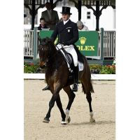 2nd place - Will Faudree (USA) riding Pawlow