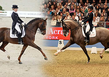 Head to Head of Two Mighty Talents at 2014 Reem Acra Final