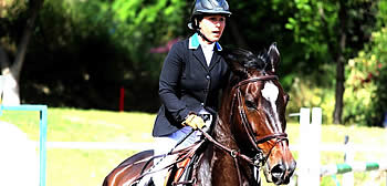 Show Jumper Danielle Goldstein Qualifies for the Israeli National Championships