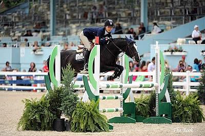 Merrill Harvey and Pandamonium Take Pony Jumper Championship at Devon Horse Show