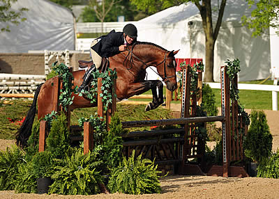 Truman Truly Shines with Christopher Payne at Kentucky Spring Horse Show