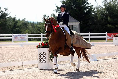 Diane Creech and Devon L Dance Away with Grand Prix Freestyle Victory before Home Crowd