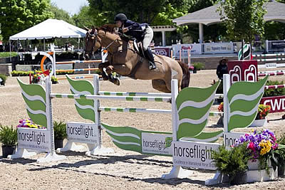 Lisa Goldman and Centurion B Cash In with $20,000 Open Welcome Stake Win at Showplace Spring Spectacular I