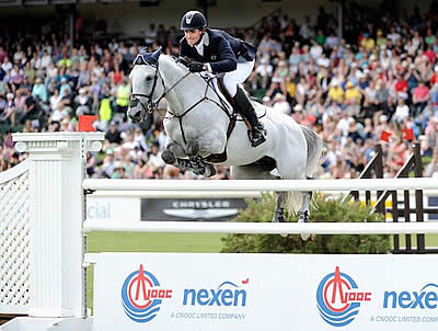 Exciting Victory for Quentin Judge and HH Dark de la Hart in $210,000 CNOOC Nexen Cup 1.50m Derby