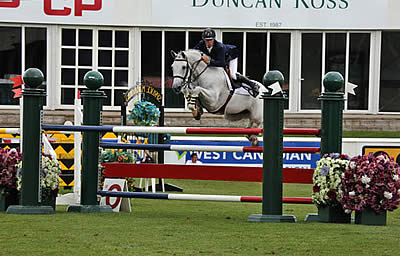 Richard Spooner and Uraguay Victorious in $33,500 Duncan Ross Cup 1.50m at Spruce Meadows