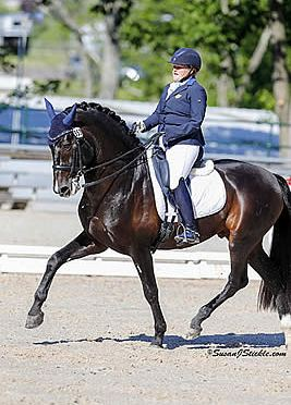 One Day Left before USEF Para-Equestrian Dressage National Championship Is Completed, Rankings Finalized