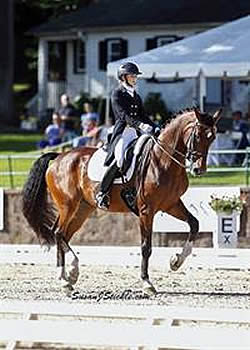 Graves Leads Strong American Effort on First Day of Competition at CDI4* Fritzens