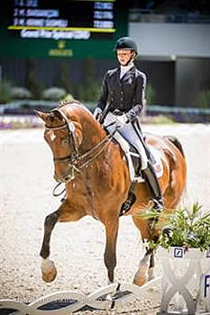 Laura Graves Leads US Dressage Effort Saturday in Aachen