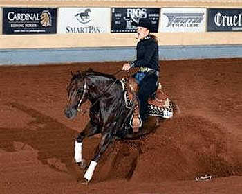 Hurd and Marsh Earn National Titles at 2014 Adequan/USEF Youth Reining National Championship