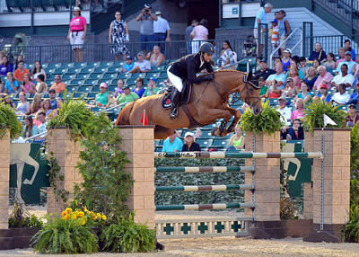 Ramiro Quintana and Whitney Win $50,000 Rood & Riddle Kentucky Grand Prix