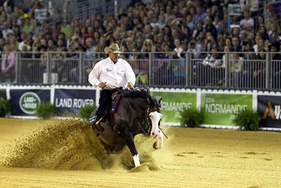 Flarida Makes It a Fantastic Five with Victory in Individual Reining Final