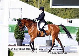 Peavy and Collier Close Out Para-Dressage World Championship Debuts on High Notes at WEG