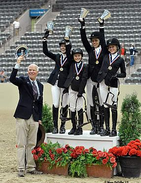 US Pony Club Earns 2014 Team Championship at US National Pony Jumper Championships