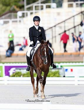 Hart, Trunnell Contest Freestyle Finals at World Equestrian Games