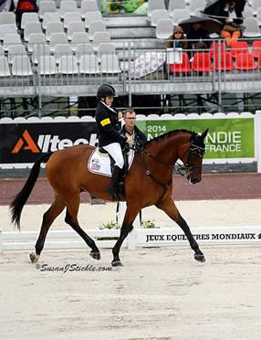 Horse Radio Network Recaps Para-Dressage at WEG with Sydney Collier and Wes Dunham