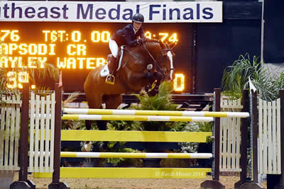 Hayley Waters and Rapsodi CR Win the $25,000 Jacksonville Grand Prix with Ease