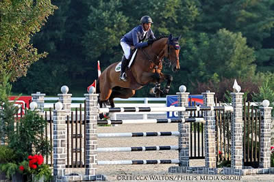 Second Year in a Row – Barrios Wins 2014 Hagyard Challenge Series Leading Rider Award
