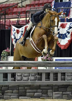 Lili Hymowitz and Tiffani Named Grand Junior Hunter Champions at Capital Challenge Horse Show
