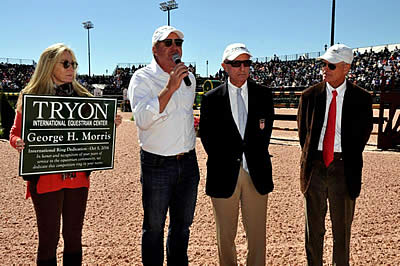 International Arena at Tryon International Equestrian Center Dedicated to George H. Morris