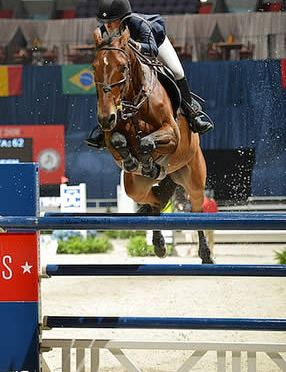 Jessica Springsteen and Davendy S Win WIHS International Jumper Speed