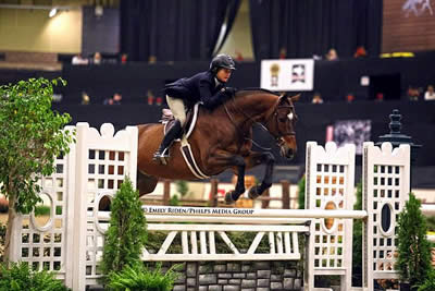 Tori Colvin and Ovation Are Grand at National Horse Show