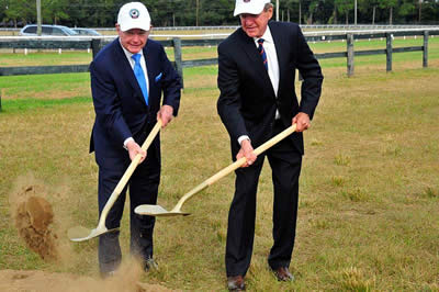 Bruce Duchossois Remembered as Aiken Horse Park Foundation Celebrates Groundbreaking