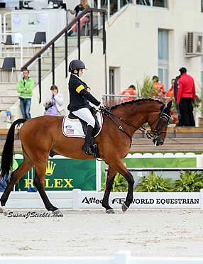 Announcing Sydney Collier as 2014 Junior Equestrian of the Year