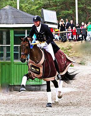 Custom Saddlery Teams Up with Swedish Olympian, Patrik Kittel