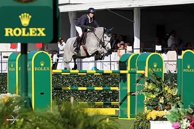 Laura Kraut and Cedric Win $125,000 Trump Invitational Grand Prix