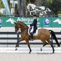 Second place finishers Tinne Vilhelmson-Silfven and Divertimento