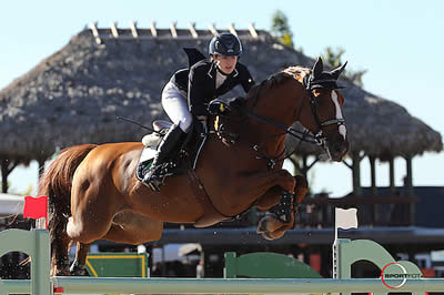 Lucy Davis and Barron Top $127,000 Ruby et Violette WEF Challenge Cup Round 7