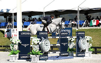 Alex Granato Leads Day One of Competition at HITS Ocala CSIO4*