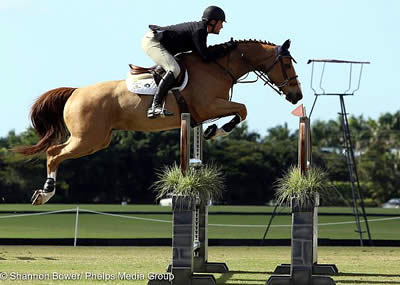 Michael Murphy Claims Top Prize at The Ridge at Wellington's Turf Tour 1.30-1.35m Jumper Class