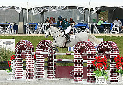 Cara Raether and Lyonell Win HITS Ocala $25,000 SmartPak Grand Prix