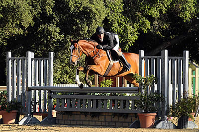 Michael Leon and Celano Win the First Grand Prix Hunter Derby of the 2015 Show Season