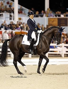 Piaffe Performance Team Wraps Up the Season with Ribbons at the Adequan Global Dressage Festival