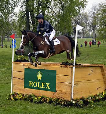 Tim Price Takes the Lead at 2015 Rolex Kentucky Three-Day Event after Day 3 Cross-Country