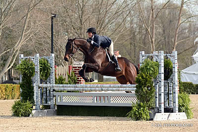 Keirstin Johnsen and Hennepin Shine Old Salem Farm Spring Welcome Day