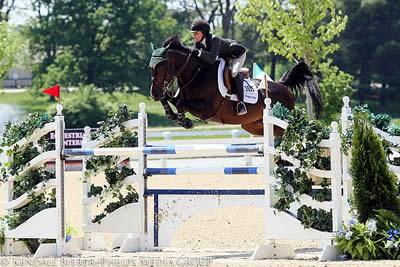 Vivian Yowan and Vornado van den Hoendrik Win High A-O/Jr Jumpers at Kentucky Spring Horse Show