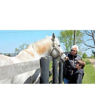 American Pharoah Trainer Bob Baffert Makes Charitable Donation to Old Friends