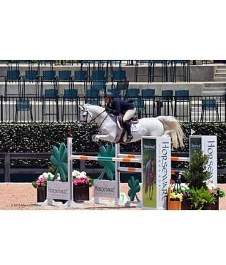 Alex Granato and Zenith Dance Claim $10k Horseware Ireland 1.45m at Tryon Summer 1